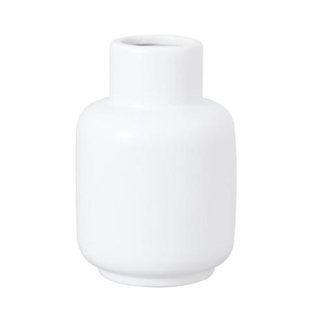 Flora Ceramic Vase Large White 13x13x20cm