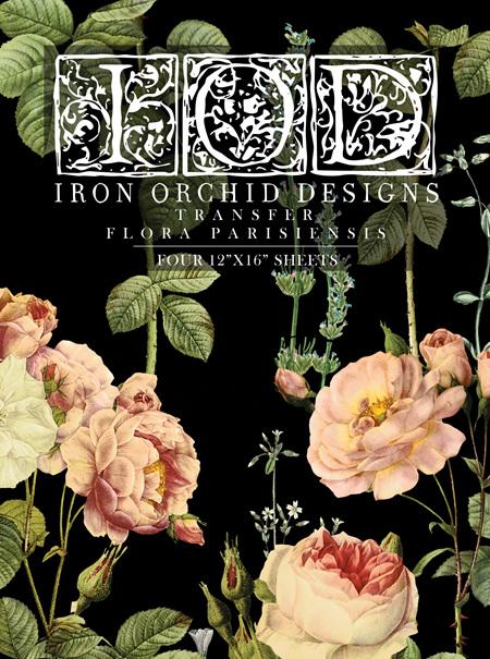 Flora Parisiensis IOD Transfer Pad