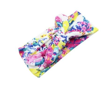 Floral & Butterflies Knot Headband