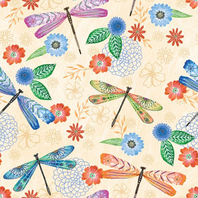 Floral Flight - Dragonfly Cream