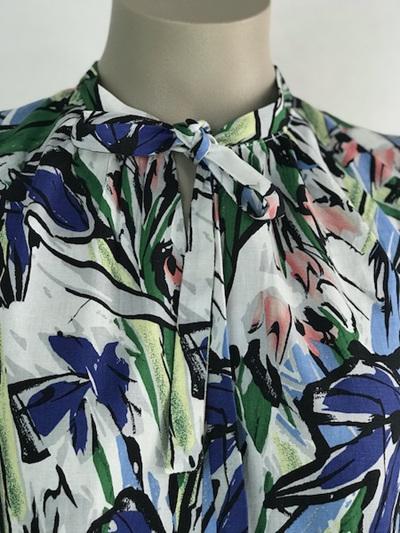 Floral linen Haru dress