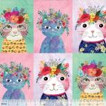 Floral Pets - Cats