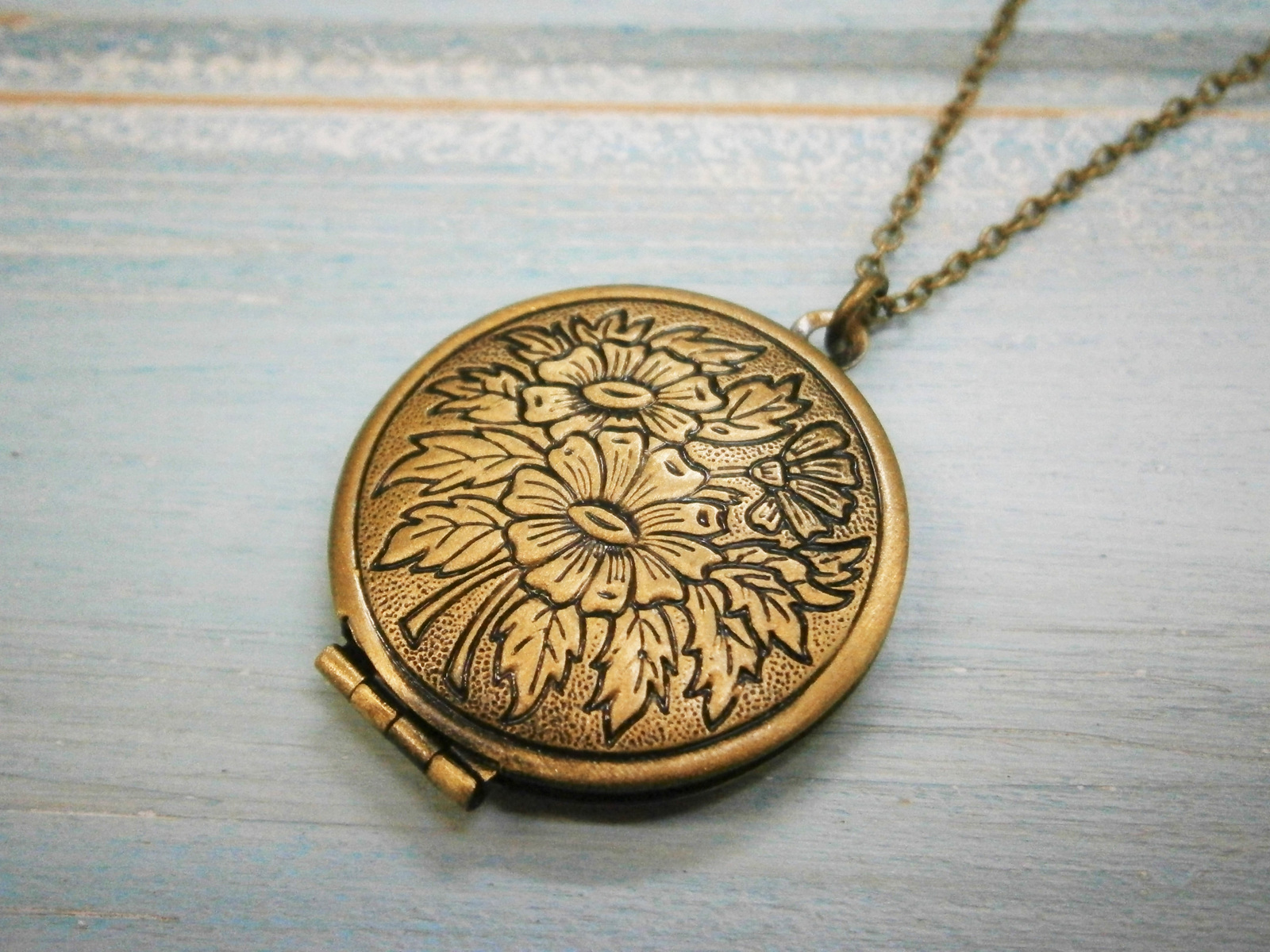heart product style tree by vintage lime original design locket necklace gold limetreedesign lockets