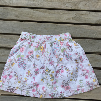 Floral Skirt Papoose