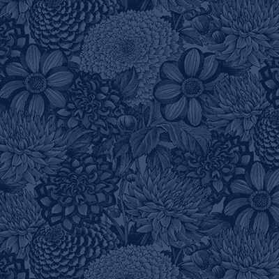Floral Toile Navy 2121449