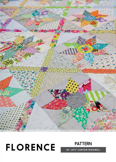 Florence Quilt Pattern by Lucy Carson Kingwell