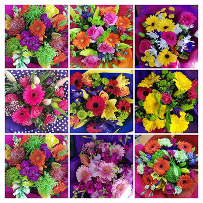 Florist Choice BRIGHT Colours