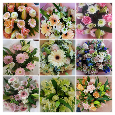 Florist Choice Pastel Colours