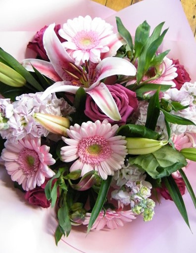 Florist Choice Pink Bouquet