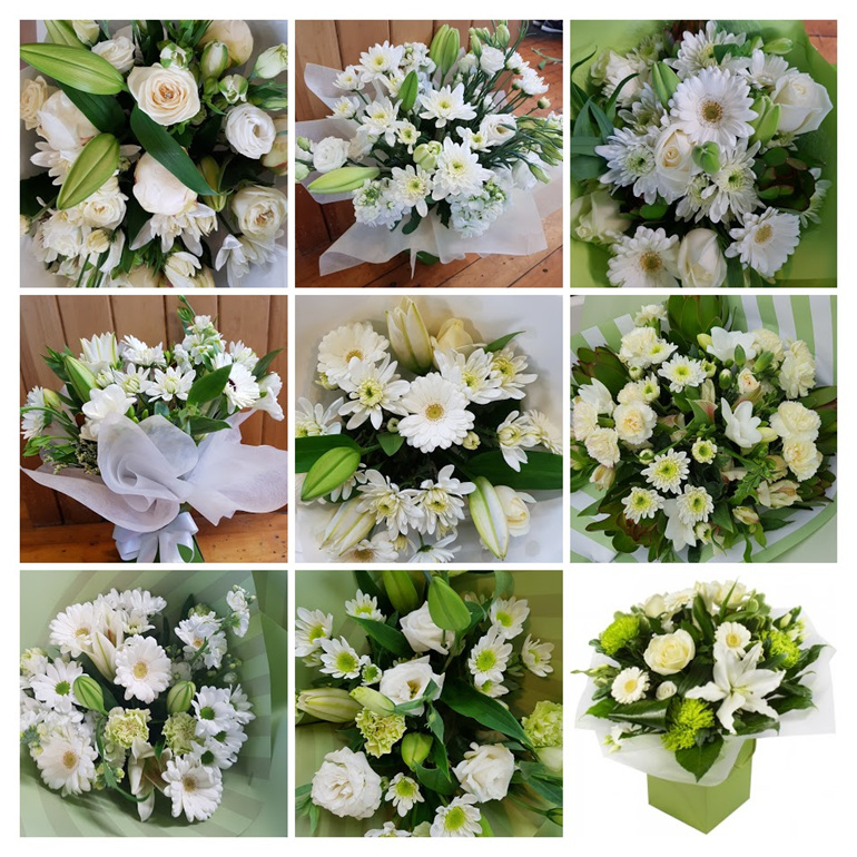 Florist Choice Whites and Greens