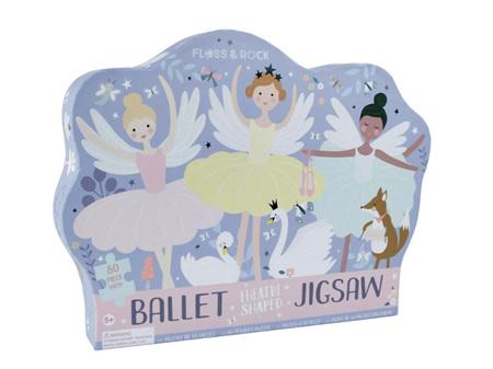 Floss & Rock Enchanted Ballet 80 Piece Jigsaw Puzzle