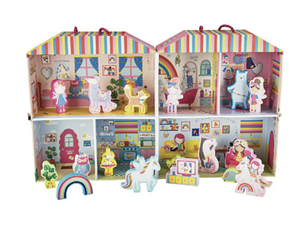 Floss & Rock Playbox with Wooden Pieces Rainbow Fairy