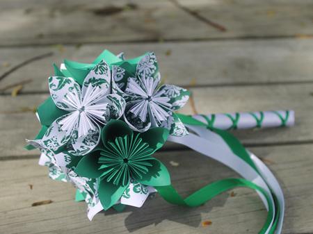 Flower girl small bouquet/wand