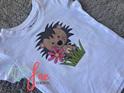 Flower Hedgehog T-shirt