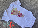 Flower Kitten Baby Bodysuit