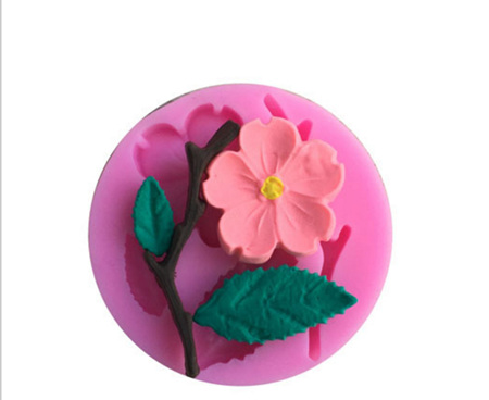 Flower, Leaf & Stem Silicone Mini Mould