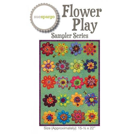 Flower Power Sampler Series by Sue Spargo