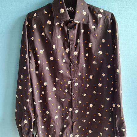 Flower shirt Size L