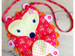 Flower the Happy Hedgehog Bag Panel