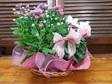Flowering Plant Basket