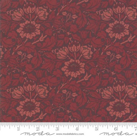Flowering Scroll Crimson 33492-23