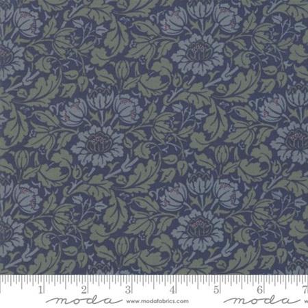 Flowering Scroll Indigo 33492-25