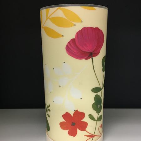Flowers Lantern - with LED Light