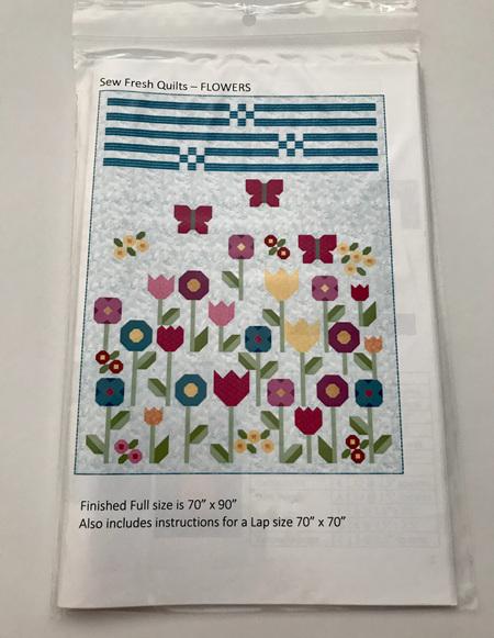Flowers Quilt Pattern