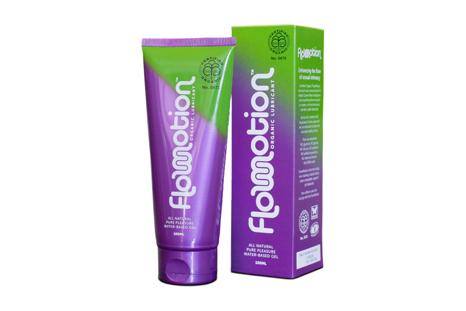 FlowMotion Waterbased Gel Lubricant - $20