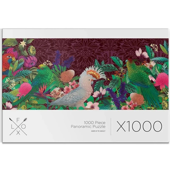 Flox 1000 Piece Panorama  Puzzle Papura Rectangle buy at www.puzzlesnz.co.nz