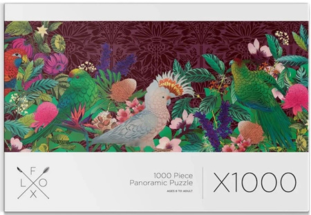 Flox NZ 1000 Piece Panorama Jigsaw Puzzle