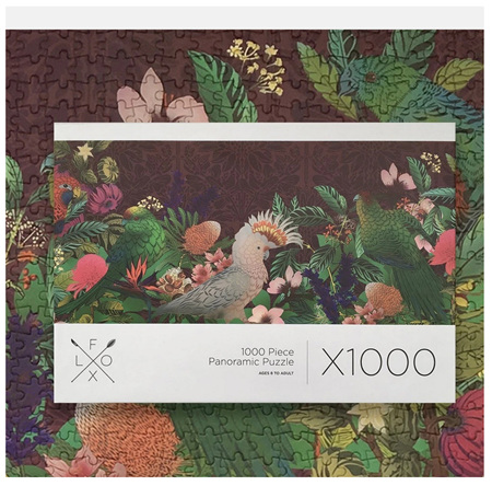 Flox NZ 1000 Piece Panorama Jigsaw Puzzle: Papura Rectangle