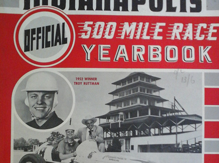 Floyd Clymer's 1952 Indianapolis 500 Year Book