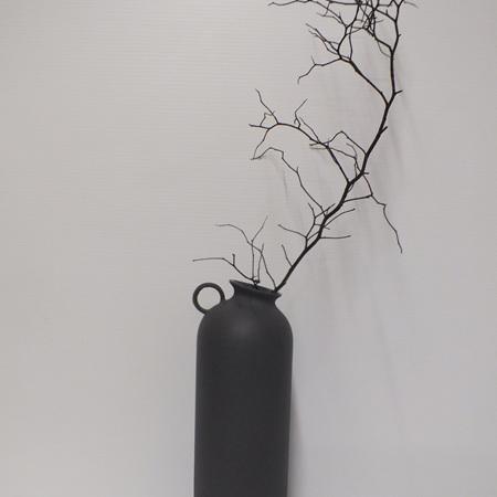 Flugen Vase Charcoal C3960