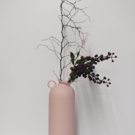 Flugen Vase Pink C3955