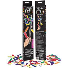 Flutter fetti - 3 confetti sticks