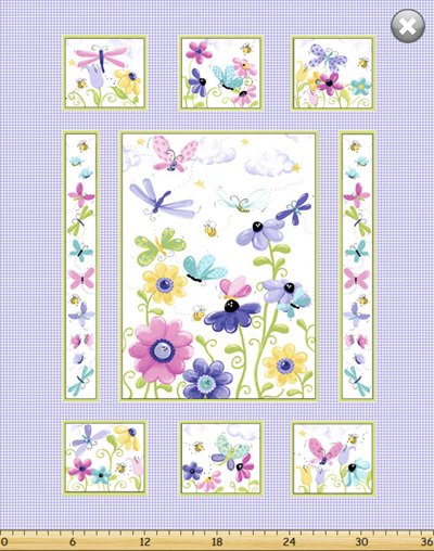 Flutter the Butterfly Panel SB20265/620
