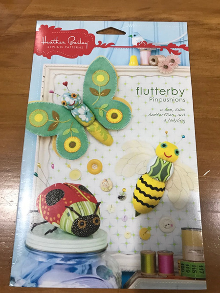 Flutterby Pincushion Pattern