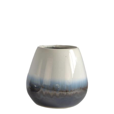 Flux Vase Medium Blue C3662