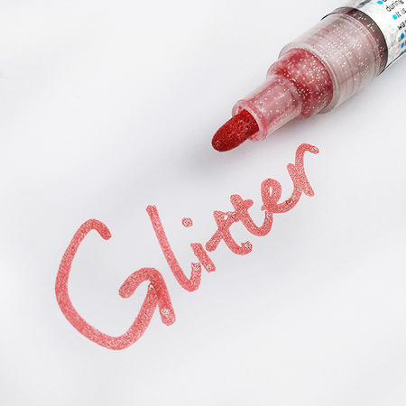 Flysea Acrylic Paint Markers - Glitter
