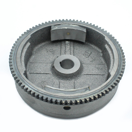 Flywheel for 168F 5.5hp and 6.5hp engines - Electric start