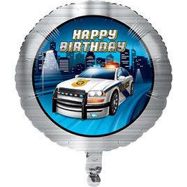 Foil Balloon - police