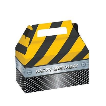 Foil Construction Treat Boxes x 2