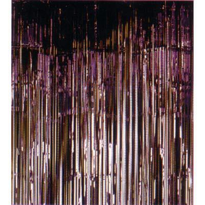 Foil curtain - black - 0.9 m x 2.m