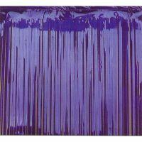 Foil curtain - Blue metallic -0 .9m x 2.4m