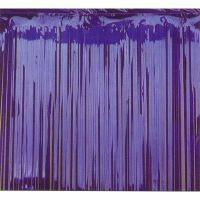 Foil curtain - Blue metallic -0 .9m x 2.4m