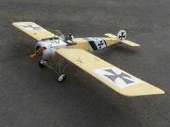 Fokker E-III Eindecker 100' 120 Size Laser Cut Short Kit