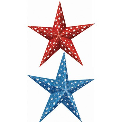 Folding Stars Red & Blue pack of 2