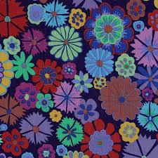 Folk Flower Purple