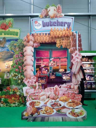 Foodstuffs Expo Stand
